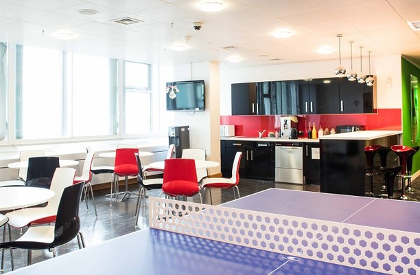 Euston Road NW1 office space – Kitchen