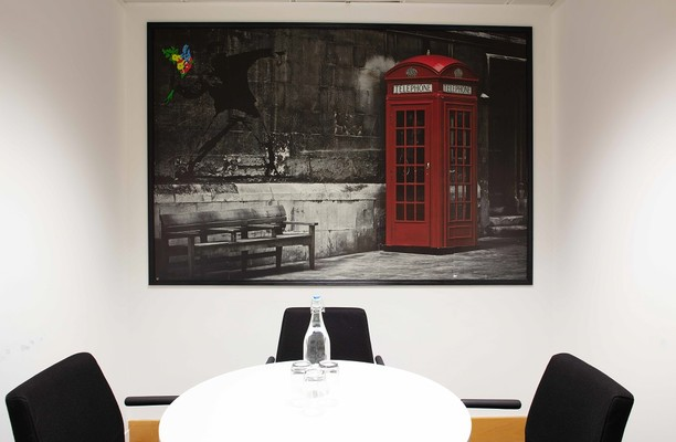 Euston Road NW1 office space – Meeting/Boardroom.