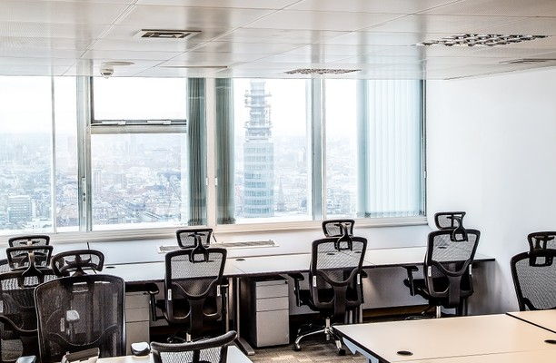 Euston Road NW1 office space – Private Office (different sizes available).