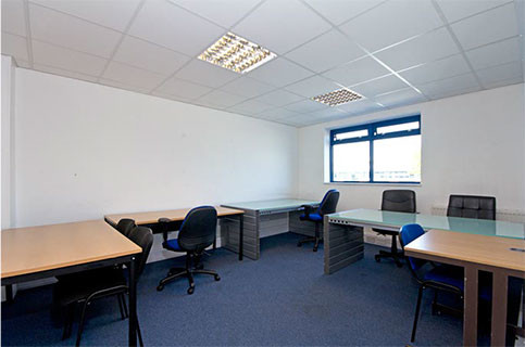 Coronation Road, NW10 office space – Private Office (different sizes available).