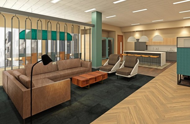 Aldersgate EC1 office space – Break Out Area