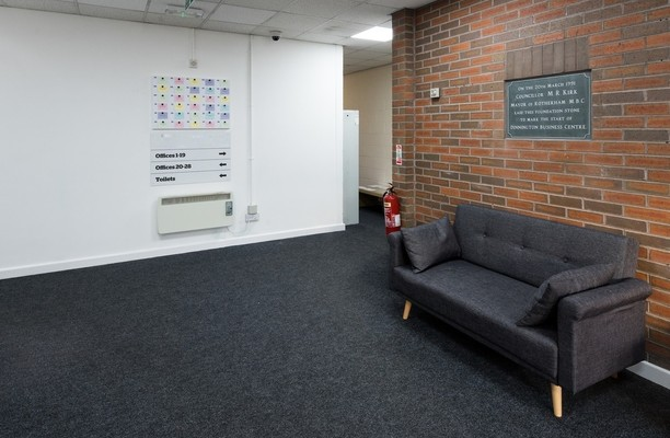 Outgang Lane S1 office space – Hallway