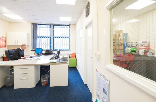 Bow Bridge Close S60 office space – Private Office (different sizes available).