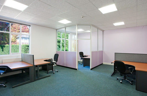 Horseshoe Hill CM1 office space – Private Office (different sizes available).