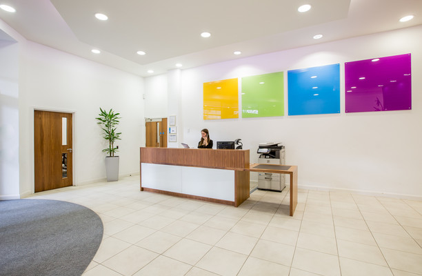 Victoria Street office space – Reception