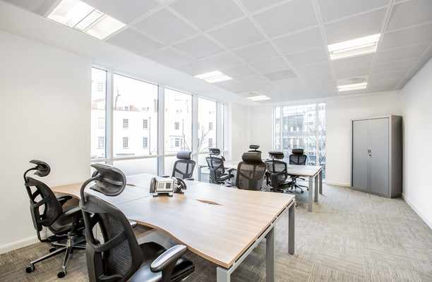 Victoria Street office space – Private Office (different sizes available).