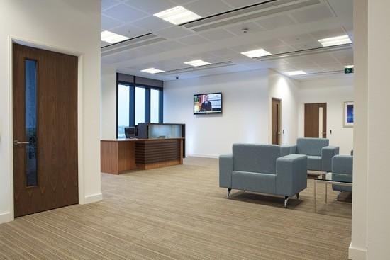 Mitre Passage SE2, SE10 office space – Reception