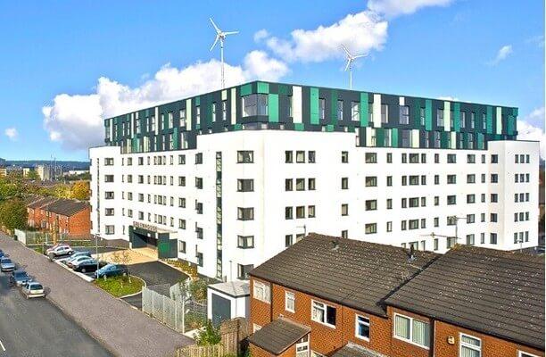 Beeston Road LS1 office space – Building External