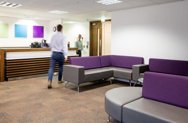Shortlands W6 office space – Reception