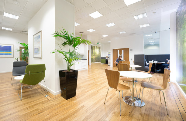 Clarendon Road WD1, WD2 office space – Break Out Area