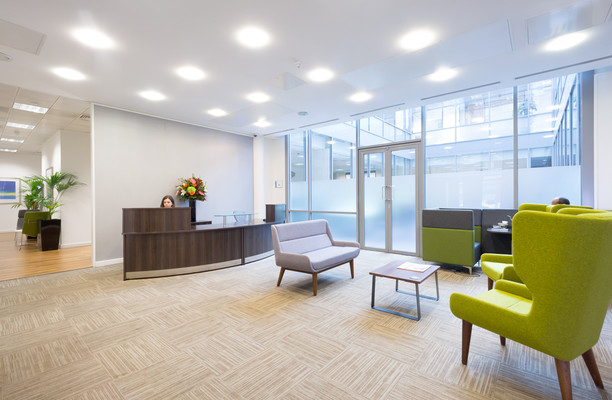 Clarendon Road WD1, WD2 office space – Reception