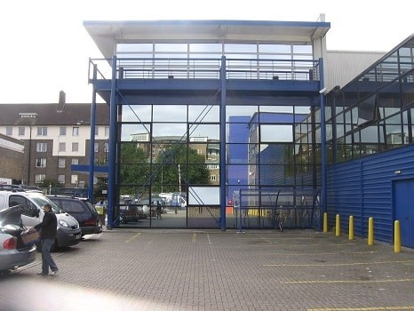 Tottenham Lane N8 office space – Building External