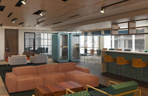 Gracechurch Street EC4 office space – Break Out Area