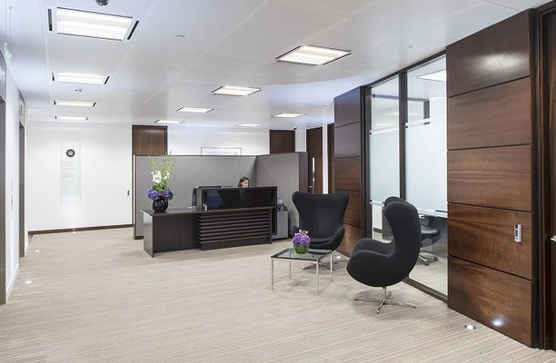 Gracechurch Street EC4 office space – Reception