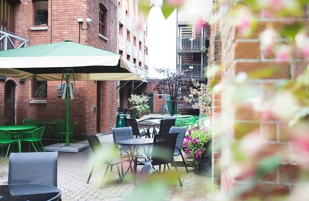 East Tyndall Street CF10 office space – Outdoor Area