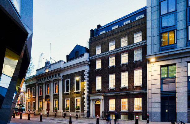 Coleman Street EC2 office space – Building External