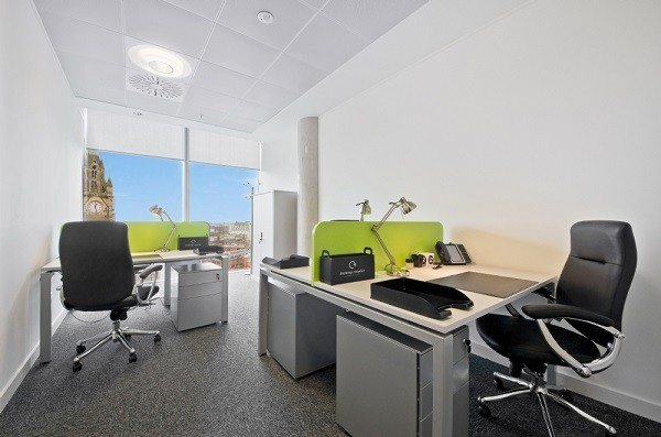 Brown Street M2 office space – Private Office (different sizes available).