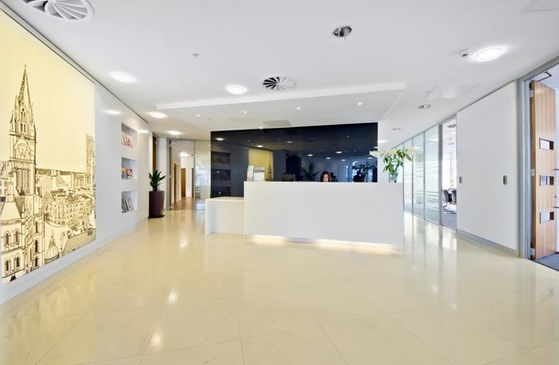 Brown Street M2 office space – Reception