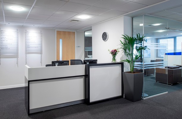 Fitzalan Road CF10 office space – Reception