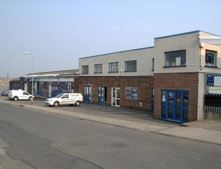 Heathfield Way NN1 - NN6 office space – Building External