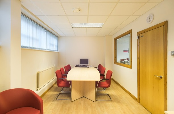 Thornes Mill office space – Meeting/Boardroom.