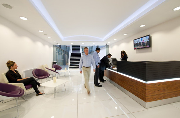 Bessemer Road AL8 office space – Reception