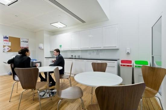 Gresham Street EC2 office space – Kitchen