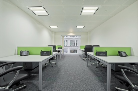Gresham Street EC2 office space – Private Office (different sizes available).