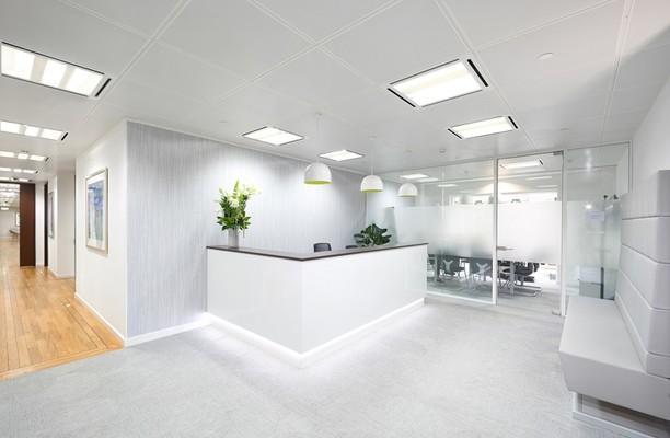 Gresham Street EC2 office space – Reception