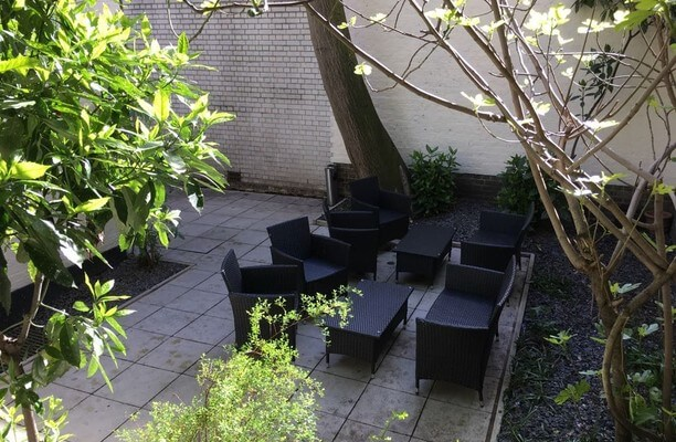 Bloomsbury Square WC1 office space – Outdoor Area