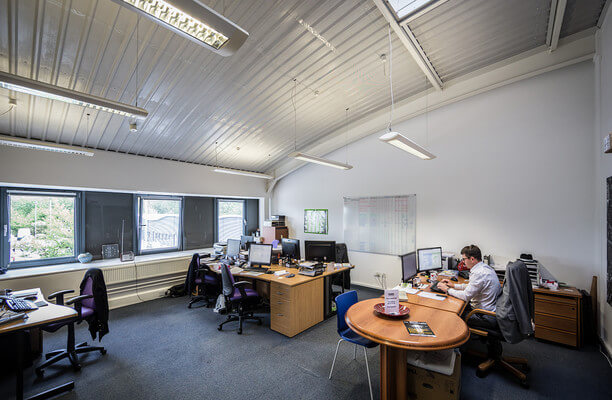 Hamilton Way NG18 office space – Private Office (different sizes available).