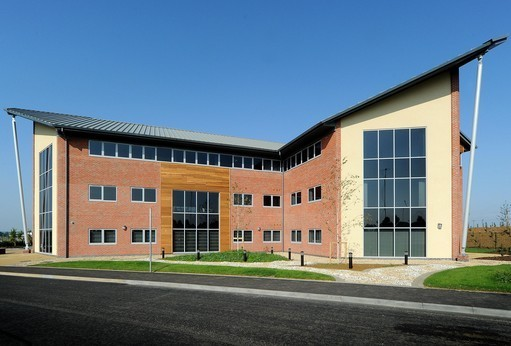 Wellington Way, Airfield Business Park, Leicester Road LE16 office space – Building External