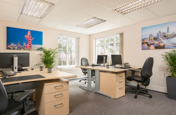Shute End, Wokingham RG40 office space – Private Office (different sizes available).
