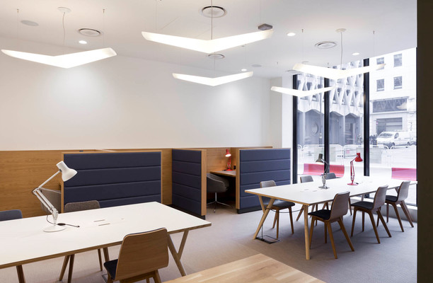 Stratford Place W1K office space – Break Out Area
