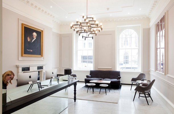 Stratford Place W1K office space – Reception