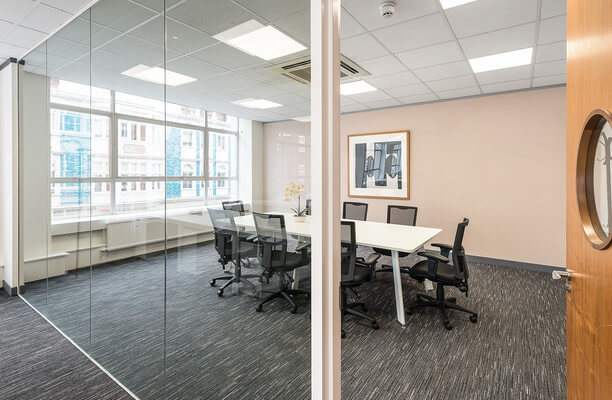 Mortimer Street W1 office space – Meeting/Boardroom.