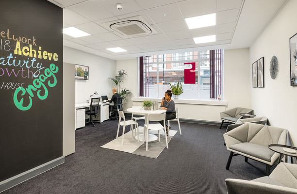 Mortimer Street W1 office space – Break Out Area