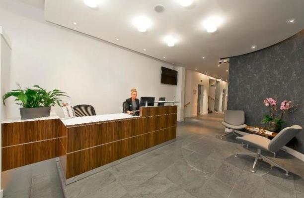Sackville Street W1 office space – Reception