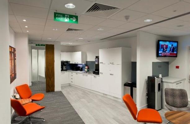 Sackville Street W1 office space – Kitchen