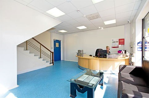 Acton Lane W3 office space – Reception