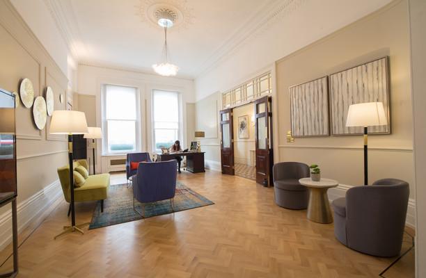 Grosvenor Gardens SW1W office space – Reception
