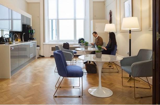 Grosvenor Gardens SW1W office space – Kitchen