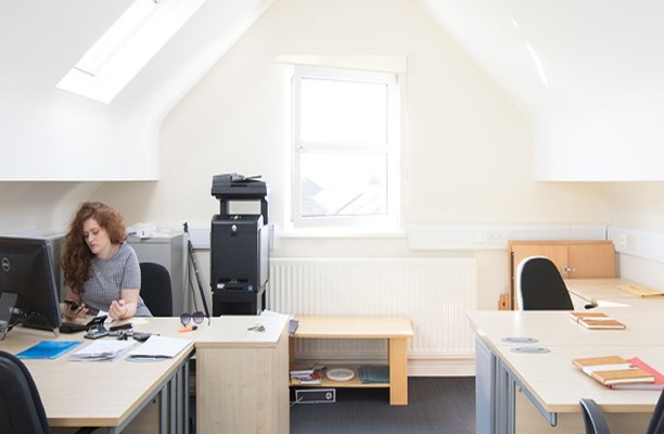 Stratford Road B1 office space – Private Office (different sizes available).