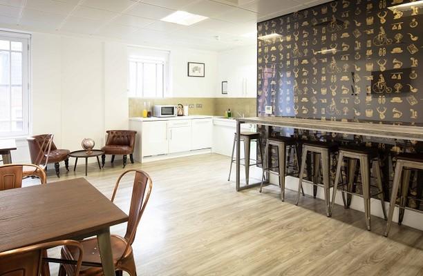 Little Britain EC1 office space – Kitchen