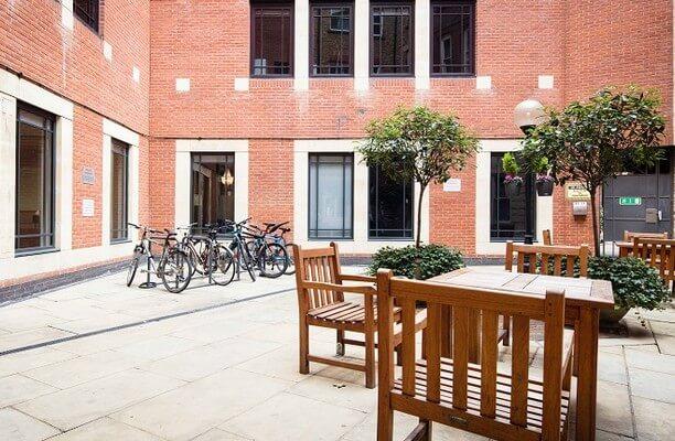 Little Britain EC1 office space – Outdoor Area