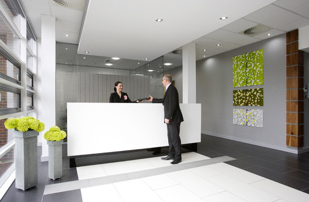 Aztec West BS1 office space – Reception