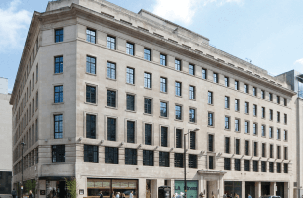 Regent Street W1 office space – Building External