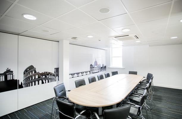 King Street M2 office space – Meeting/Boardroom.