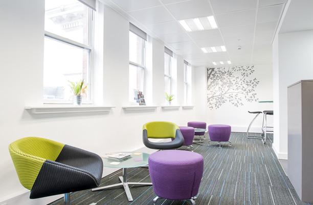King Street M2 office space – Break Out Area
