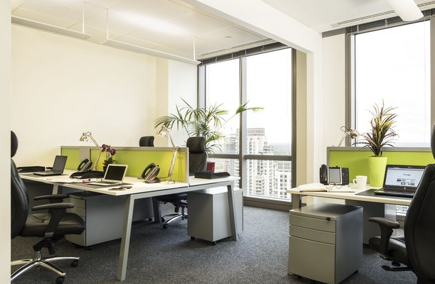 Bank Street E14 office space – Private Office (different sizes available).